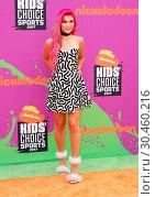 Купить «Nickelodeon's Kids' Choice Sports Awards 2017 held at UCLA's Pauley Pavilion Featuring: Jessie Paege Where: Los Angeles, California, United States When: 13 Jul 2017 Credit: Adriana M. Barraza/WENN.com», фото № 30460216, снято 13 июля 2017 г. (c) age Fotostock / Фотобанк Лори