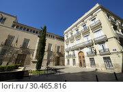 Manises Square in Valencia city, Spain. Стоковое фото, фотограф Pedro Salaverría / age Fotostock / Фотобанк Лори