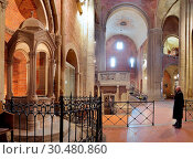 Купить «St. Michael (San Michele) church, Pavia, Lombardy, Italy, Europe», фото № 30480860, снято 7 октября 2012 г. (c) age Fotostock / Фотобанк Лори