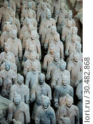 Купить «Army of Terracotta Warriors, UNESCO World Heritage Site, Xian, Shaanxi Province, China, Asia», фото № 30482868, снято 29 марта 2018 г. (c) age Fotostock / Фотобанк Лори