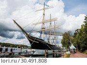 Купить «Pommern historic boat, Mariehamn, Aland, Finland, Europe», фото № 30491808, снято 31 августа 2018 г. (c) age Fotostock / Фотобанк Лори