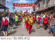 Chinese New Year Festival Capgomeh year 2019 15th day of the 1st month at Siniawan, Sarawak, Malaysia. Редакционное фото, фотограф Chua Wee Boo / age Fotostock / Фотобанк Лори