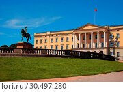Royal Palace, Oslo, Norway, Scandinavia, Europe. Стоковое фото, фотограф ProCip / age Fotostock / Фотобанк Лори