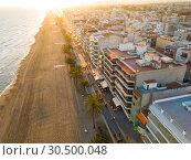 Купить «Calafell cityscape, Spain», фото № 30500048, снято 10 марта 2019 г. (c) Яков Филимонов / Фотобанк Лори
