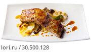Купить «Pork ribs in teriyaki sauce», фото № 30500128, снято 17 июля 2019 г. (c) Яков Филимонов / Фотобанк Лори