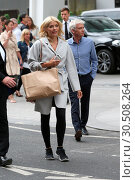 Holly Willougby and Phillip Schofield and other presenters leave ... (2017 год). Редакционное фото, фотограф WENN.com / age Fotostock / Фотобанк Лори