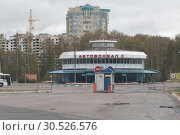 Купить «Город Ступино, Автовокзал», эксклюзивное фото № 30526576, снято 23 сентября 2018 г. (c) Дмитрий Неумоин / Фотобанк Лори