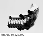 Купить «Concept of chips», фото № 30529892, снято 28 января 2010 г. (c) Tryapitsyn Sergiy / Фотобанк Лори