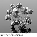 Купить «Concept of processor», фото № 30529908, снято 29 января 2010 г. (c) Tryapitsyn Sergiy / Фотобанк Лори