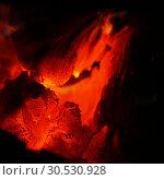 Glowing coals. Стоковое фото, фотограф Tryapitsyn Sergiy / Фотобанк Лори