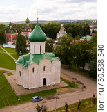 Купить «Transfiguration Cathedral, Pereslavl-Zalessky», фото № 30538540, снято 9 июня 2018 г. (c) Яков Филимонов / Фотобанк Лори