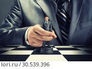 Business chess. Стоковое фото, фотограф Tryapitsyn Sergiy / Фотобанк Лори