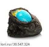 Earth inside pack. Стоковое фото, фотограф Tryapitsyn Sergiy / Фотобанк Лори