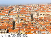 Купить «European city roofs», фото № 30553432, снято 15 июля 2015 г. (c) Tryapitsyn Sergiy / Фотобанк Лори
