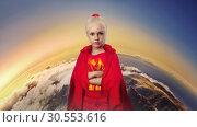 Купить «Little girl in costume», фото № 30553616, снято 21 июля 2015 г. (c) Tryapitsyn Sergiy / Фотобанк Лори