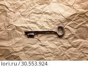 Old key. Стоковое фото, фотограф Tryapitsyn Sergiy / Фотобанк Лори
