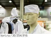 Купить «Mannequin in the baker costume», фото № 30554916, снято 14 апреля 2016 г. (c) Tryapitsyn Sergiy / Фотобанк Лори