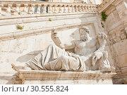 Купить «Статуя, символизирующая реку Нил. Капитолийский холм. Рим. Италия», фото № 30555824, снято 28 апреля 2018 г. (c) E. O. / Фотобанк Лори