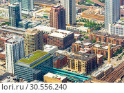 Купить «Top view of business, work and office centers.», фото № 30556240, снято 14 июня 2016 г. (c) Tryapitsyn Sergiy / Фотобанк Лори