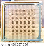 Купить «Old processor closeup», фото № 30557056, снято 3 июля 2016 г. (c) Tryapitsyn Sergiy / Фотобанк Лори