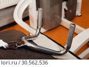 Sport machine for chest muscles. Стоковое фото, фотограф Tryapitsyn Sergiy / Фотобанк Лори