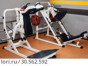 Modern sport machines. Стоковое фото, фотограф Tryapitsyn Sergiy / Фотобанк Лори