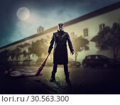 Купить «Horror of serial murders on streets», фото № 30563300, снято 14 июля 2020 г. (c) Tryapitsyn Sergiy / Фотобанк Лори