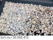 Купить «Gem stone collection closeup, Sri Lanka treasures», фото № 30565412, снято 25 февраля 2017 г. (c) Tryapitsyn Sergiy / Фотобанк Лори