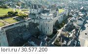 Купить «Medieval castle Chateau d'Amboise, France», видеоролик № 30577200, снято 8 октября 2018 г. (c) Яков Филимонов / Фотобанк Лори