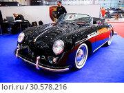 Купить «Porsche 356 Speedster», фото № 30578216, снято 11 марта 2019 г. (c) Art Konovalov / Фотобанк Лори