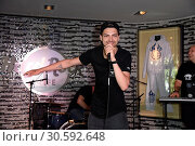 Купить «Jimi Blue showcase to promote his upcoming EP '3LUE' and song 'Schuetteln' at Hard Rock Cafe at Kurfuerstendamm. Featuring: Jimi Blue Ochsenknecht Where...», фото № 30592648, снято 12 июня 2017 г. (c) age Fotostock / Фотобанк Лори