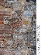 Купить «Breakable stone wall», фото № 30595132, снято 6 декабря 2019 г. (c) Яков Филимонов / Фотобанк Лори