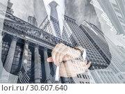 Купить «Corporate business, finance, stock market and economic prosperity conceptul collage.», фото № 30607640, снято 8 мая 2018 г. (c) Matej Kastelic / Фотобанк Лори