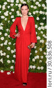 Купить «71st Annual Tony Awards - Arrivals Featuring: Olivia Wilde Where: New York, New York, United States When: 11 Jun 2017 Credit: WENN.com», фото № 30636508, снято 11 июня 2017 г. (c) age Fotostock / Фотобанк Лори