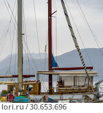 Sailboat, Karce, Trivet, Montenegro. Стоковое фото, фотограф Keith Levit / Ingram Publishing / Фотобанк Лори