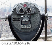 Купить «Close-up of coin operated binoculars, Empire State Building, Midtown Manhattan, New York City, New York State, USA», фото № 30654216, снято 18 ноября 2019 г. (c) Ingram Publishing / Фотобанк Лори