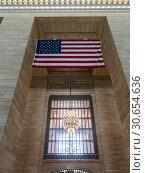Купить «Elegant chandelier at Grand Central Terminal, 42nd Street, Park Avenue, Midtown Manhattan, Manhattan, New York City, New York State, USA», фото № 30654636, снято 8 декабря 2019 г. (c) Ingram Publishing / Фотобанк Лори