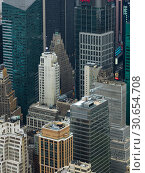 Купить «Skylines from above, Midtown Manhattan, New York City, New York State, USA», фото № 30654708, снято 2 апреля 2020 г. (c) Ingram Publishing / Фотобанк Лори