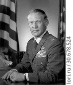 Купить «USA -- circa 1985 -- Col. Edwin E. 'Buzz' Aldrin, Jr. Aldrin was lunar module pilot for Apollo XI, July 16-24, 1969--the first manned lunar landing mission...», фото № 30678524, снято 20 мая 2019 г. (c) age Fotostock / Фотобанк Лори