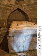 Crypt of Amir Temur in Memorial Complex Dorus-Saodat in Shakhrisabz, Uzbekistan (2016 год). Стоковое фото, фотограф Юлия Бабкина / Фотобанк Лори