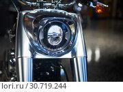 Motorcycle front fork. Стоковое фото, фотограф Николай Куницкий / Фотобанк Лори