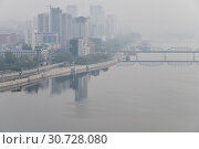 Купить «Pyongyang, capital of the North Korea. DPRK», фото № 30728080, снято 30 апреля 2019 г. (c) Знаменский Олег / Фотобанк Лори