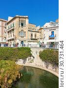 Купить «Waterfront in Ortygia», фото № 30731464, снято 17 марта 2019 г. (c) Роман Сигаев / Фотобанк Лори