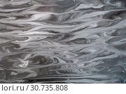 Купить «Abstract monochrome grunge texture. Gray decorative distress background. Natural luxury. Copy space.», иллюстрация № 30735808 (c) bashta / Фотобанк Лори