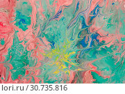 Купить «Abstract colored grunge texture. Colorful painting background. Natural luxury. Copy space.», иллюстрация № 30735816 (c) bashta / Фотобанк Лори