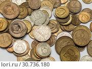 Купить «Металлические деньги», эксклюзивное фото № 30736180, снято 15 апреля 2019 г. (c) Игорь Низов / Фотобанк Лори