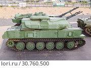 Купить «The antiaircraft Shilka self-propelled emplacement on the embankment to Volgograd», фото № 30760500, снято 27 апреля 2019 г. (c) Владимир Арсентьев / Фотобанк Лори