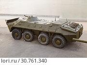 Купить «The armored conveyor on the embankment to Volgograd», фото № 30761340, снято 27 апреля 2019 г. (c) Владимир Арсентьев / Фотобанк Лори