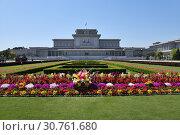 Купить «Mausoleum. Pyongyang, North Korea», фото № 30761680, снято 2 мая 2019 г. (c) Знаменский Олег / Фотобанк Лори