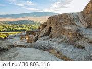 Купить «Uplistsikhe cave city, Georgia», фото № 30803116, снято 30 сентября 2018 г. (c) Юлия Бабкина / Фотобанк Лори